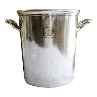 Vintage Ambassador Hotel, Los Angeles Silver Plate Champagne Bucket For Sale