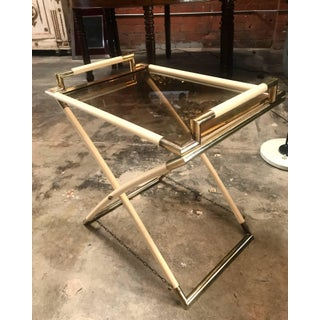Vintage Brass and Glass Cocktail Table Preview