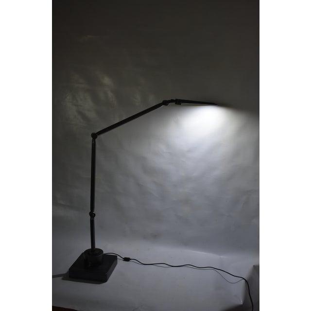 Oblik Studio Inc. Brass and Steel Desk Lamp For Sale In New York - Image 6 of 9