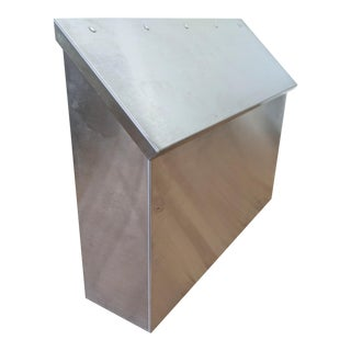 Stainless Steel Minimalist Mailbox For Sale