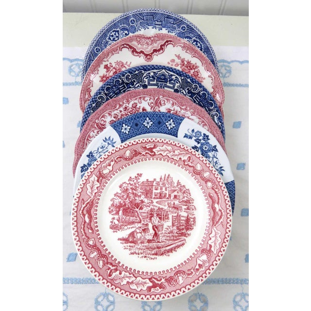 Mismatched Ironstone China Set, Service for 6 For Sale In Washington DC - Image 6 of 11