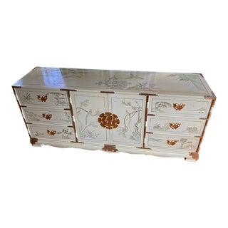 1970s Asian Lowboy Dresser For Sale