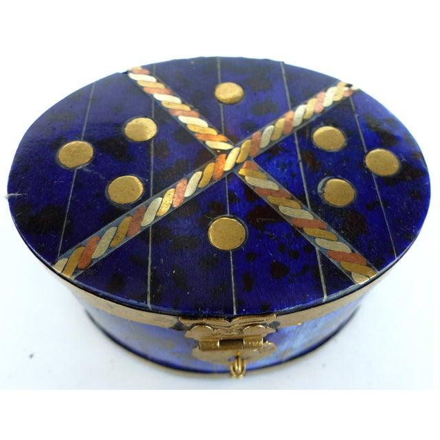 Lapis Hue Trinket Box - Image 4 of 6