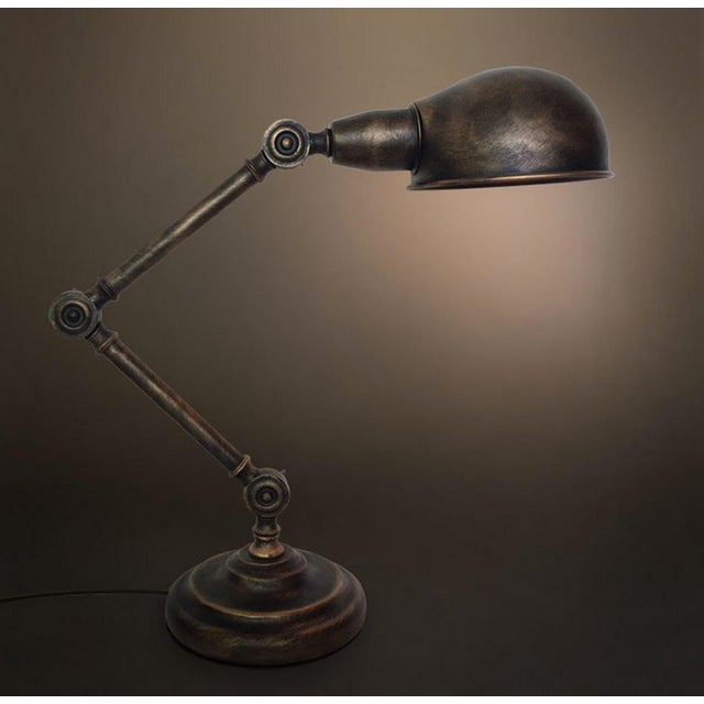 Vintage Industrial Light the Medieval Table Lamp - Image 4 of 4