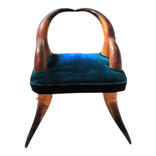 Antique Horn Small Child's Chair