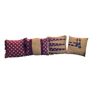 French Country Pierre Deux Custom-Made Pillows - Set of 4 For Sale