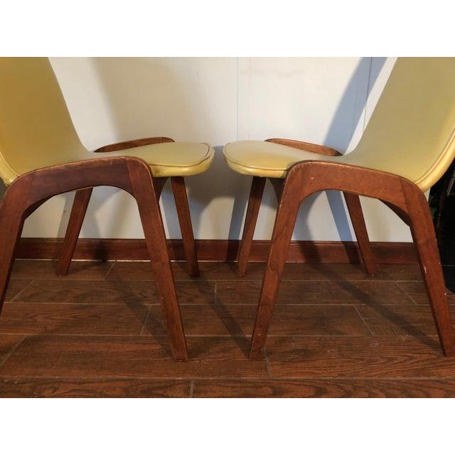 Richbilt MFG Johannes Andersen Style Mid-Century Danish Teak Chairs - a Pair For Sale - Image 4 of 9