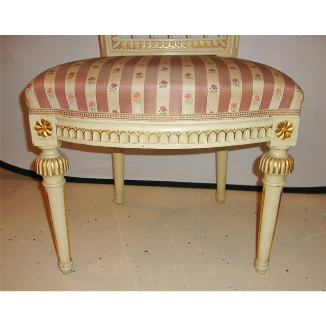 Jansen Style Side Chairs - Pair For Sale - Image 9 of 10