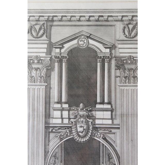 Early 19th Century Antique Prospetto Del Finestreno Architectural Print For Sale - Image 4 of 12