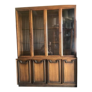 Mid Century Modern Hutch / China Cabinet For Sale