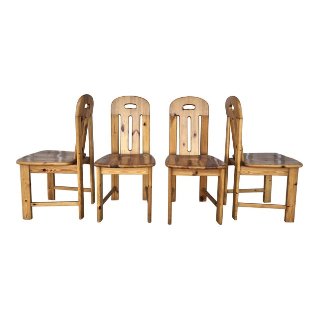1970's French Dining Chairs For Sale