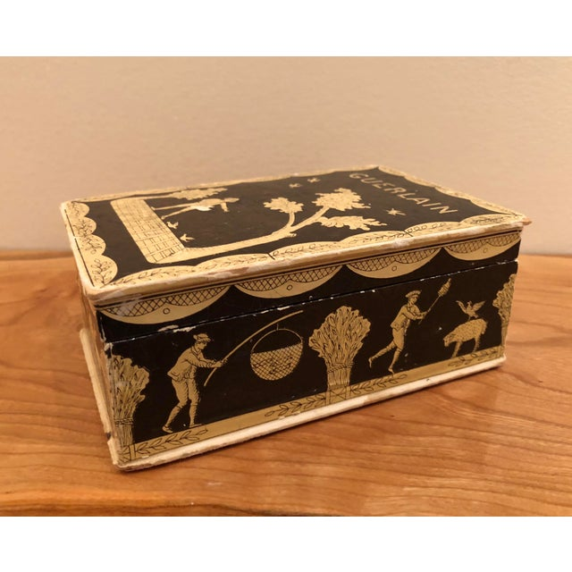 Vintage Mid-Century Hinged Guerlain Box For Sale - Image 12 of 12