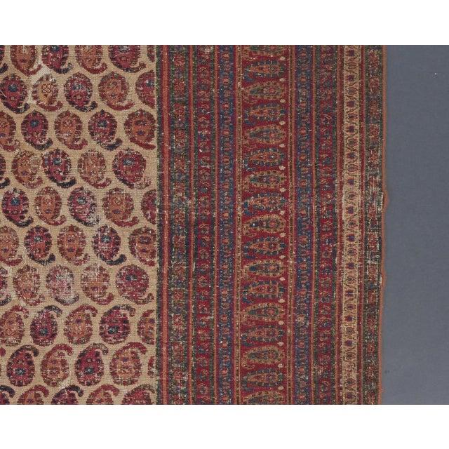 Traditional White Ground Allover Design Khorasan Carpet For Sale - Image 3 of 4