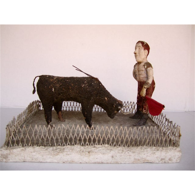 French Folk Art Bullfighter - Image 2 of 8