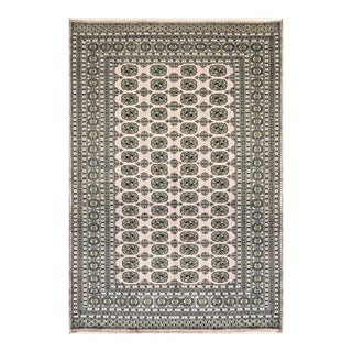 "Traditional Hand Woven Rug - 6'1"" X 9' For Sale"