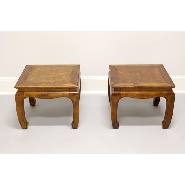 Century Chin Hua Raymond Sobota Asian Chinoiserie Ming Cocktail Tables - Pair For Sale In Charlotte - Image 6 of 11