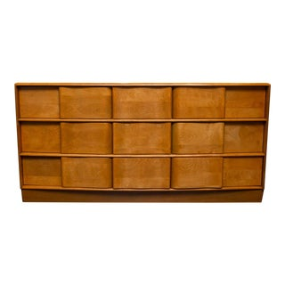 Heywood Wakefield Nine-Drawer Scultura Dresser