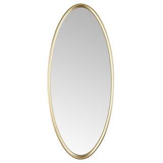 1960's Vintage La Barge Oval Mirror For Sale