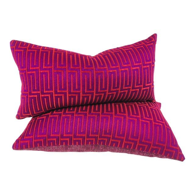 Vervain Lumbar Pillows - A Pair - Image 1 of 5