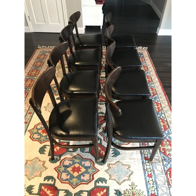Vintage Mid-Century Modern Dining Chairs - Set of 8 - Image 8 of 9