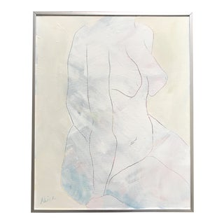 """""""Neutral Nude"""" Painting by Alice Houston Miles For Sale"""