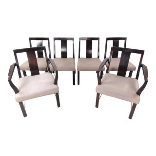 Edward Wormley for Dunbar Dining Chairs - Set of 6 For Sale