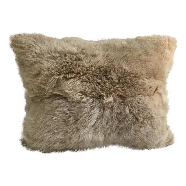 Peruvian Baby Alpaca Fur Pillow - Image 1 of 7