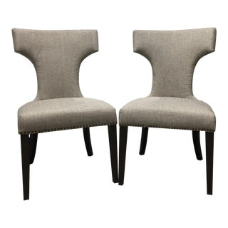 "Universal Furniture ""Soliloquy"" Chairs - a Pair For Sale"