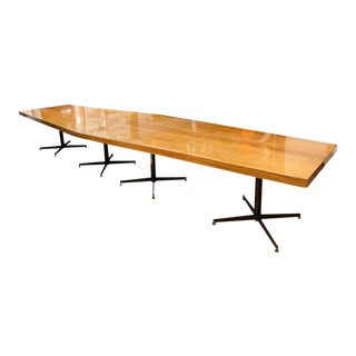 Large Conference Table by Vittorio Nobili for Fratelli Tagliabue - Italy 1950s For Sale