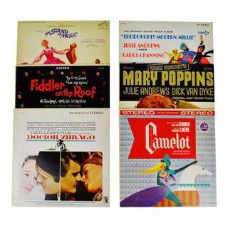 Decorative Motion Picture Soundtrack LP Covers - Set of 6 For Sale