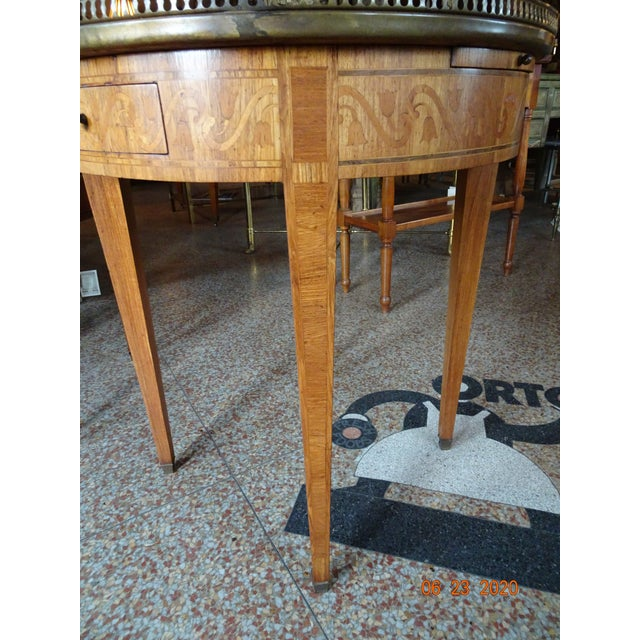 19th Century French Bouillotte Table For Sale - Image 4 of 13