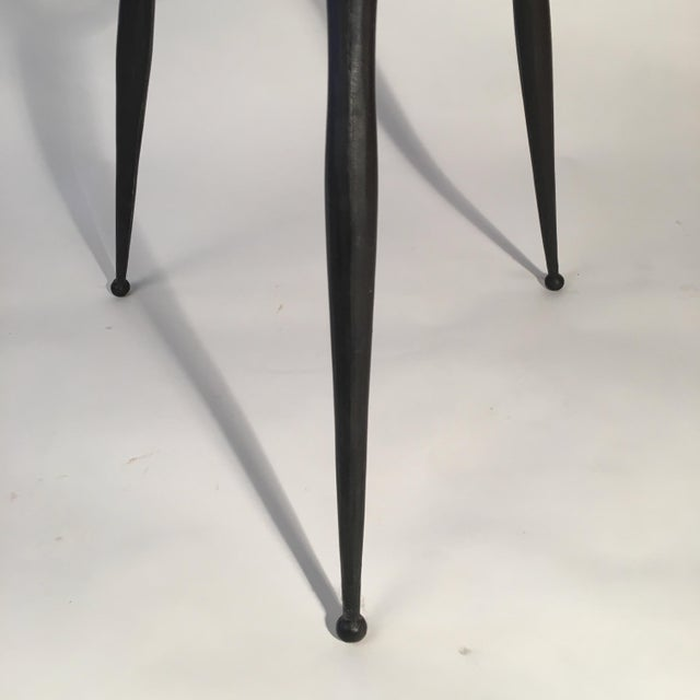 Modern Solid Cast Bronze Table For Sale - Image 3 of 5