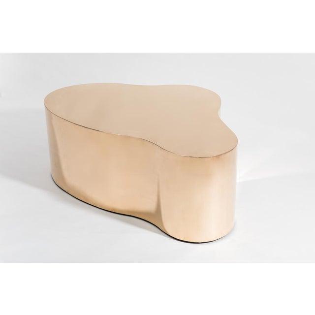 Karl Springer LTD Bronze Free Form Low Table, Usa For Sale - Image 4 of 8