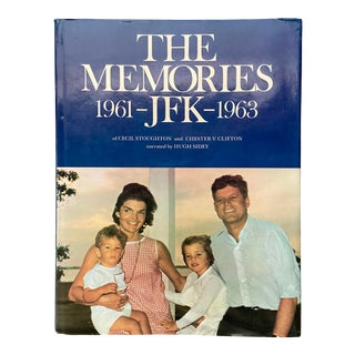 "Vintage 1973 ""The Memories: Jfk, 1961-1963"" 1st Edition Hardcover Book For Sale"