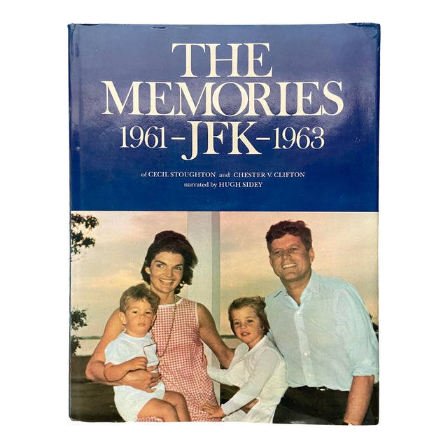 """Vintage 1973 """"The Memories: Jfk, 1961-1963"""" 1st Edition Hardcover Book For Sale"""