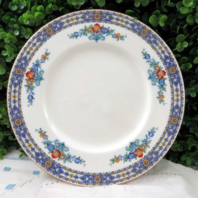 Vintage Mismatched Fine China Dinner Plates - Set of 4 - Image 4 of 10