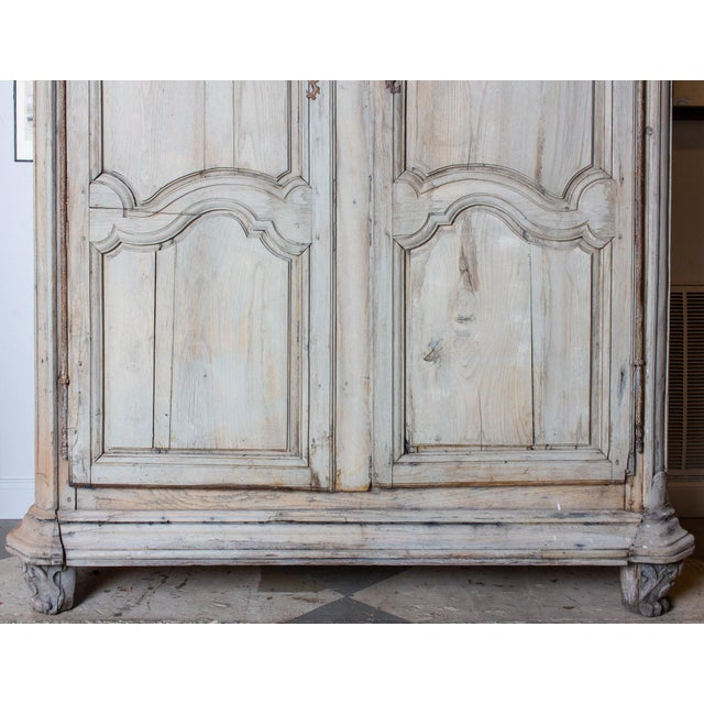 19th Century Antique French Oak Armoire For Sale - Image 4 of 13