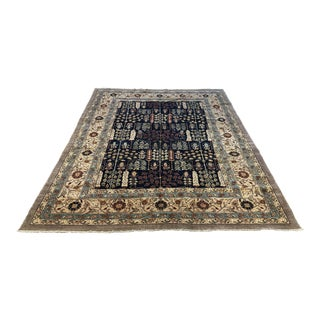 Hand-Knotted Samarkand Collection Area Rug For Sale