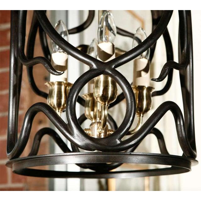Paul Marra Snake Lantern by Paul Marra For Sale - Image 4 of 7