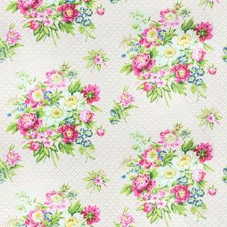 Vintage Bassett McNab Ashbury Floral Fabric, 1 Yard For Sale