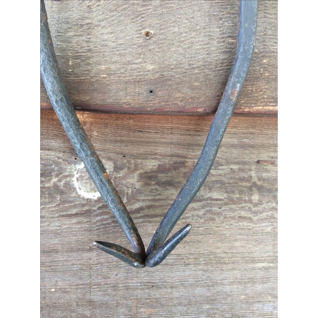 Primitive Cast Iron Tongs - Image 3 of 8