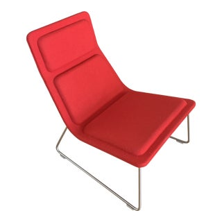 Cappellini Low Pad Lounge Chair by Jasper Morrison For Sale