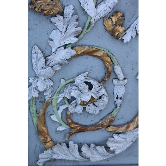 Late 18th Century Swedish Neoclassic Gustavian Wall Panels- A Pair For Sale - Image 10 of 12