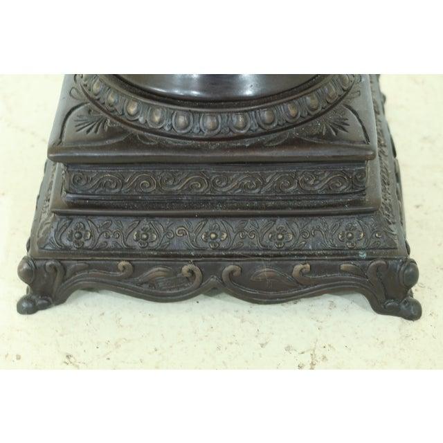 Maitland - Smith Maitland Smith Bronze Pagoda Form Lidded Urn For Sale - Image 4 of 10