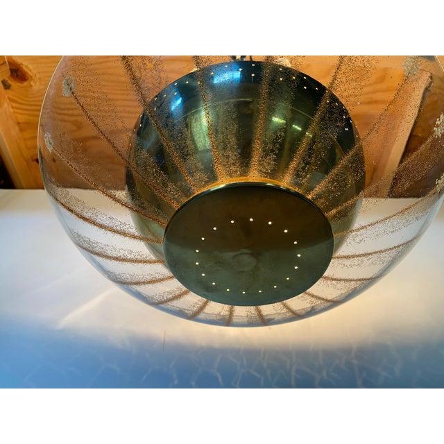 Vintage Brass Sputnik Style Chandelier For Sale - Image 12 of 13