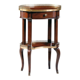 Scarborough House Oval Crotch Lamp Table For Sale