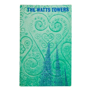 "1961 Boho Chic ""The Watts Towers"" Booklet by the Committee for Simon Rodia's Towers"