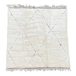 Large Moroccan Beni Ourain Rug For Sale
