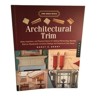 Architectural Trim Book For Sale