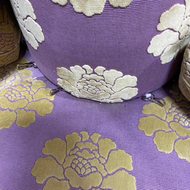 Textile John Boone Custom Upholstered Circular Sofa For Sale - Image 7 of 13